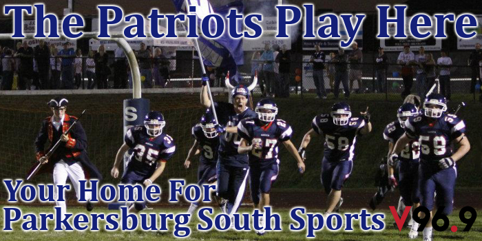 WVVV, V96.9, Parkersburg South, South, Patriots, high school, football, West Virginia