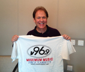 Rick Dees on V96.9 radio